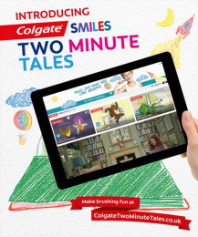 Colgate: Two Minute Tales Print Ad by MEC New York, Red Fuse