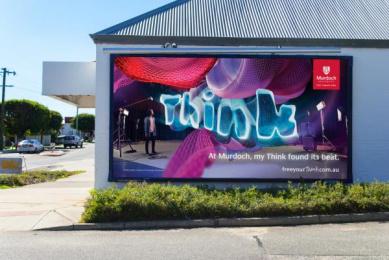 Murdoch University: Daniel Outdoor Advert by JWT Perth, Vandal