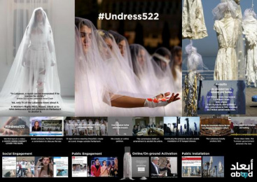 Abaad Resource Center For Gender Equality: #Undress522 [image] [alternative version] Film by H&C Leo Burnett Beirut