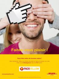 DHL Postal Services: Faites-vous plaisir ! Enjoy yourself ! 1 Print Ad by bouche a oreille