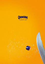 Orangina: Sabre Print Ad by Freelance