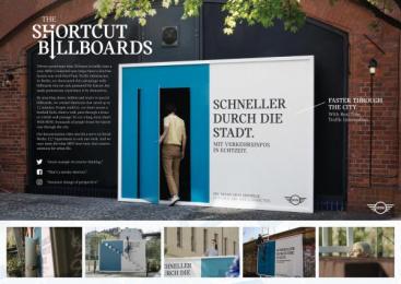 MINI: MINI Ambient Advert by Serviceplan Munich