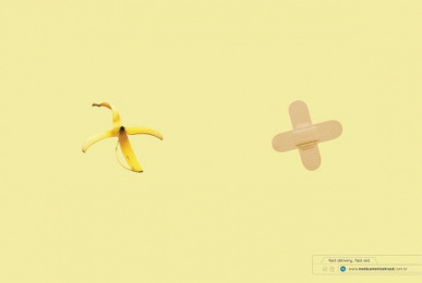 Medicamentos Brasil: Banana Print Ad by Nova MCP
