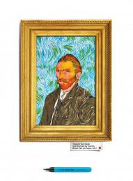Camlin Brush Pens: Vincent Van Gogh Outdoor Advert by R K Swamy BBDO Mumbai