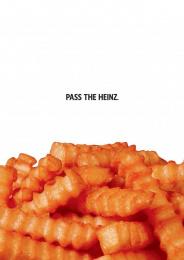 Heinz: Fries Print Ad by DAVID Miami, Sterling Cooper Draper Pryce