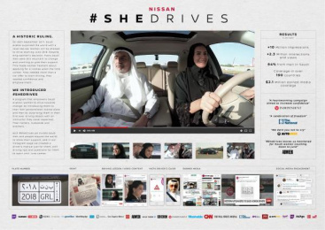 Nissan: #SHEDRIVES [image] Film by Made in Saudi Films, TBWA\RAAD Dubai