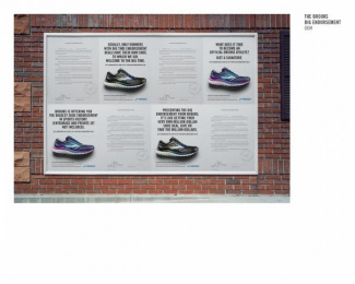 Brooks Running: The Big Endorsement, 3 Outdoor Advert by Leo Burnett Chicago