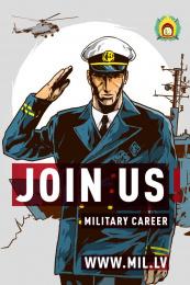 Latvijas armija: Join Us, 3 Print Ad by Tribe