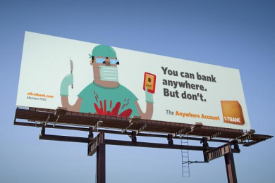 Firstbank: Surgeon Outdoor Advert by TDA_Boulder