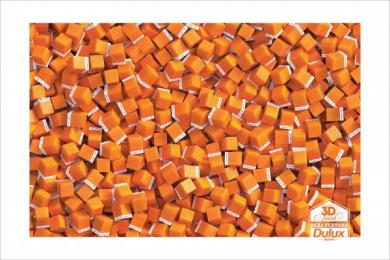 Dulux: Orange Finish Print Ad by Taproot Mumbai