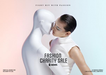 Aides: Fashion Charity Sale, 2 Print Ad by BETC