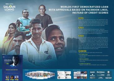 TATA Capital Housing Finance: Tata Capital Salaam Loans [image] Digital Advert by Leo Burnett Mumbai