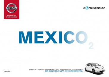 Nissan: Mexico Print Ad by Jung von Matt/365 GmbH Hamburg Germany, TBWA\ Dusseldorf