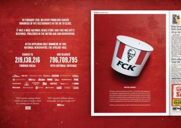 Kentucky Fried Chicken (KFC): Kentucky Fried Chicken (KFC) Print Ad by Mother London