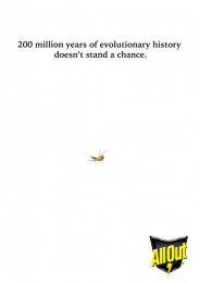 All Out: Mosquito Repellent, 2 Print Ad by Miami Ad School Mumbai