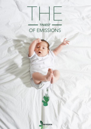 Nissan Leaf: The Tiniest of Emissions, 1 Print Ad by Miami Ad School New York