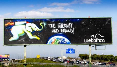 Webafrica: Webafrica Print Ad
