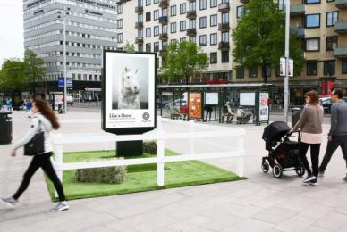 Fotografiska: Like a Horse Outdoor Advert by ORD&BILD