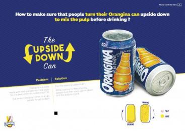 Orangina: Upside Down Can Direct marketing by BETC