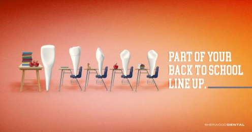 Sherwood Dental: Class Print Ad by Haste Post Haste