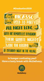 McDonald's: Graduation 2020 - Picasso Digital Advert by Leo Burnett Milan