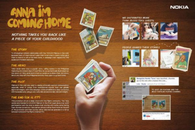 Nokia: ANNA, I'M COMING HOME Case study by Carat Dubai, J. Walter Thompson Dubai