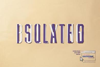 Dermodex Skin Treatment: Isolated Print Ad by Fischer America Sao Paulo