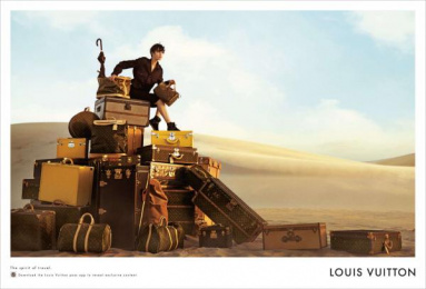 Louis Vuitton: LOUIS VUITTON Print Ad