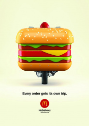 McDonald's: Burgers Print Ad by Fortune Promoseven Dubai
