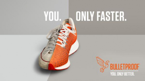 Bulletproof: You. Only Faster. Print Ad by Will Creative Inc.