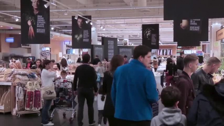 Carrefour: Digital Film by Marcel Paris