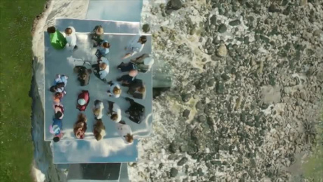 Channel 4: Channel 4 Idents 2017 – White Cliffs Film by 4creative