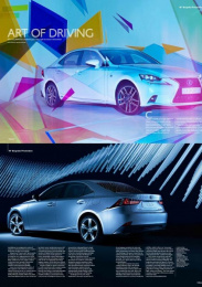 Lexus Is: Advertorial Collage Print Ad by CHI & Partners London, ZenithOptimedia London