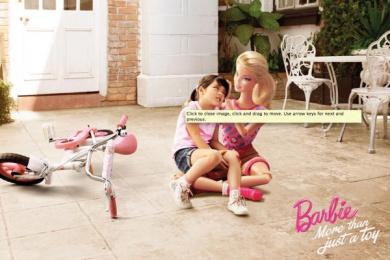Barbie: Fall Print Ad by Ogilvy & Mather Kuala Lumpur