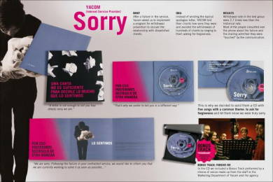 Ya.com: SORRY Direct marketing by Shackleton Spain