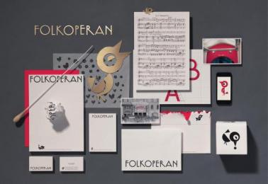The Folkoperan Opera House: Folkoperan - new graphic identity, 1 Design & Branding by Lowe Brindfors Stockholm