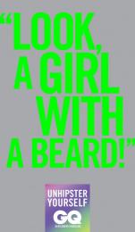GQ Magazine: Beard Print Ad by Lew'Lara\TBWA Sao Paulo