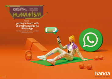 Bankia: Digital Humanism, 2 Print Ad by Attic Films, CLV Madrid