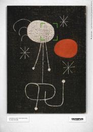 Olympus E-PM1: ABSTRACT ART MIRO Print Ad by Euro Rscg Vienna, Havas Worldwide Vienna