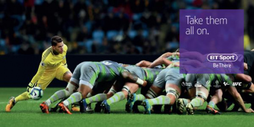 Bt Sport: Scrum Print Ad by AMV BBDO London