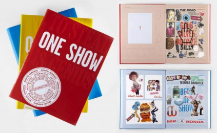 The One Club: THE 2010 ONE SHOW ANNUAL Design & Branding by Anomaly New York