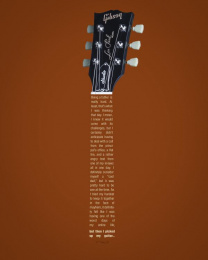 Gibson Guitars: Worst Day Ever - Dad Print Ad by Miami Ad School New York