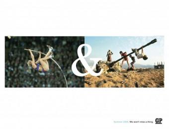 Goteborgs-posten: POLE Print Ad by Forsman & Bodenfors Gothenburg