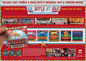 Tata: Dipper Condoms, 2 Design & Branding by Rediffusion Y&R