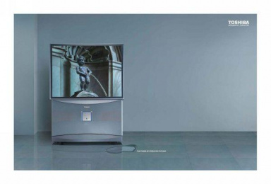 Dramatic Theatre Tv: PISSING BOY Print Ad by Quadrant Communications