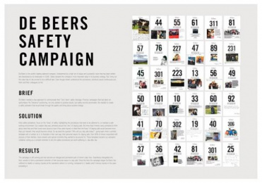 De Beers: Safety [image] Case study by Joe Public