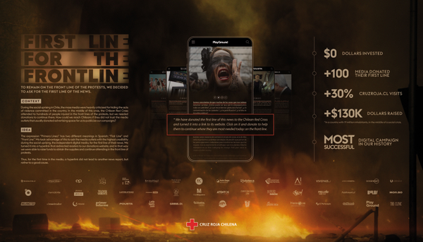 First Line For The Front Line - Case Study Board