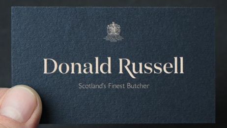 Donald Russell: Donald Russell Print Ad
