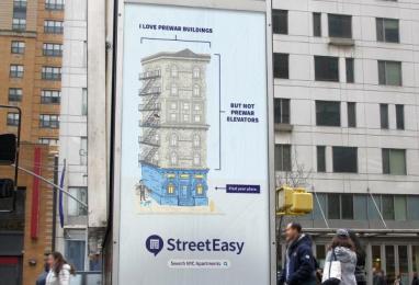 StreetEasy: Building Prewar Outdoor Advert by Office Of Baby