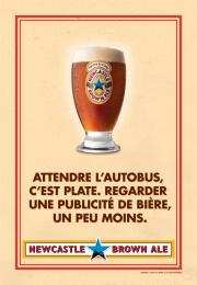 Newcastle Brown Ale: No Bollocks, 1 Print Ad by Nolin BBDO Montreal